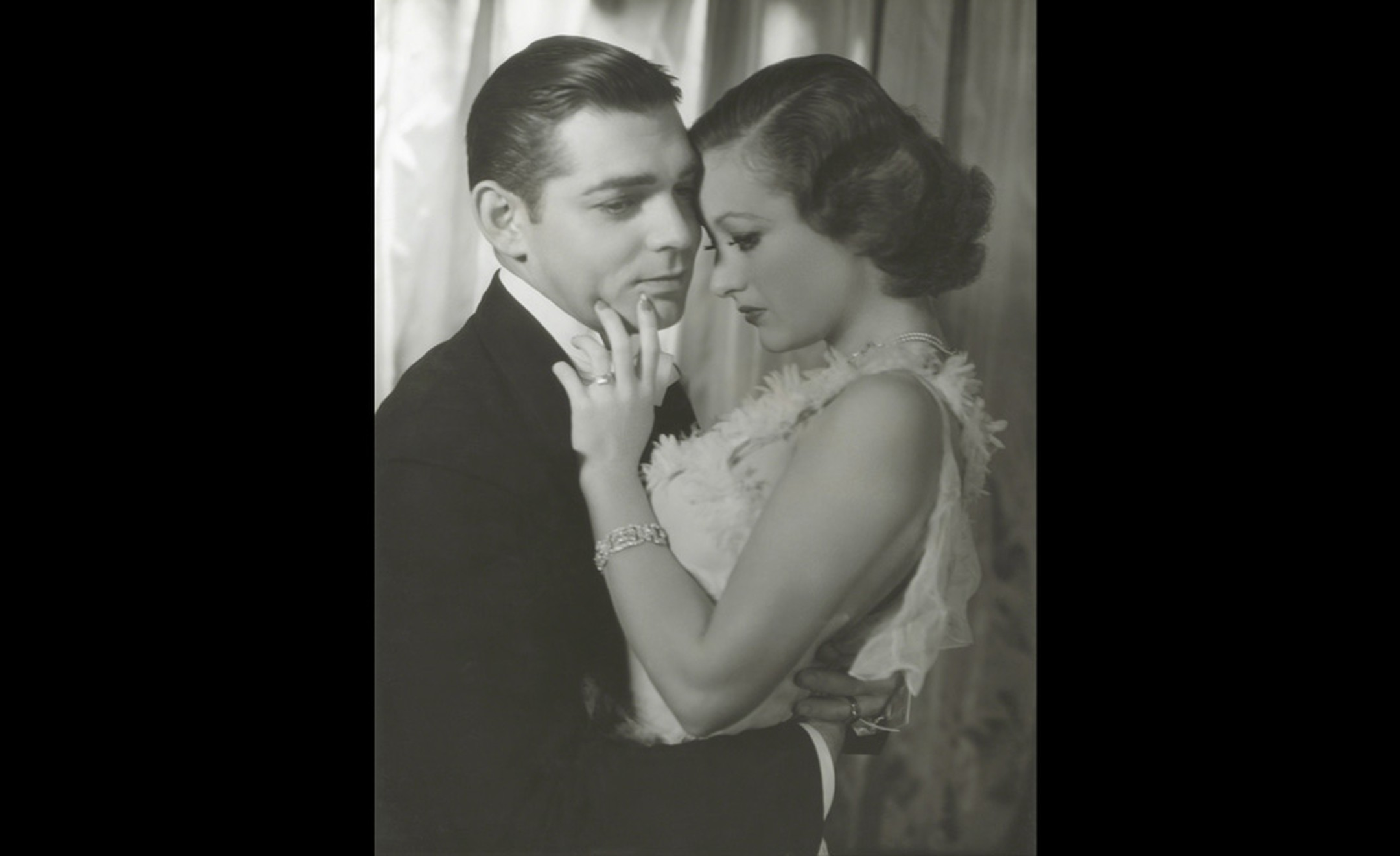 Clark Gable and Joan Crawford