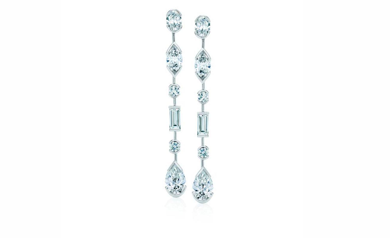 DE BEERS, Swan Lake Earrings White Gold and Diamonds. POA