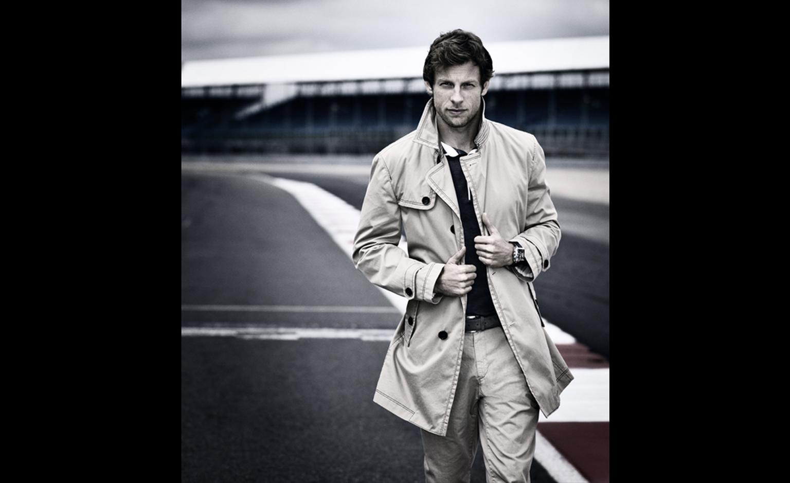 TAG HEUER. Jenson Button, 2011 with Monaco 24 Racing Calibre 36 Chronograph.