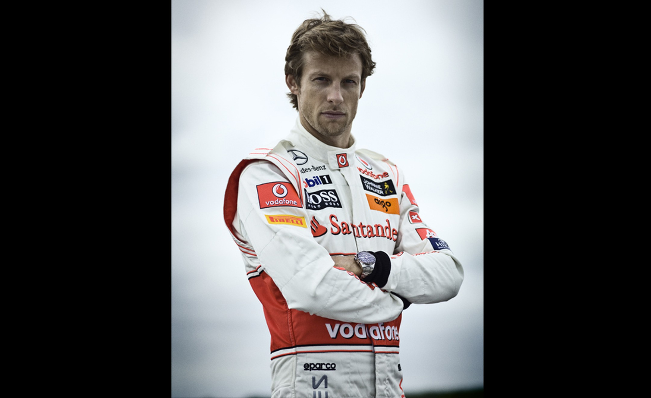 TAG HEUER. Jenson Button 2011 with Carrera Chronograph 43MM.