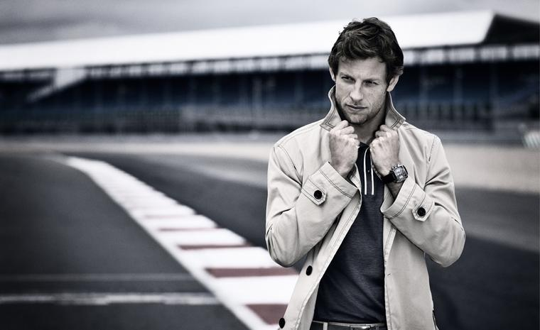 TAG HEUER. Jenson Button 2011 with Monaco 24 Racing Calibre 36 Chronograph.