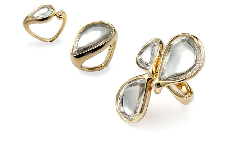 Diane von Furstenberg by H Stern. Sutra rings. Prices from £2100 - £5500