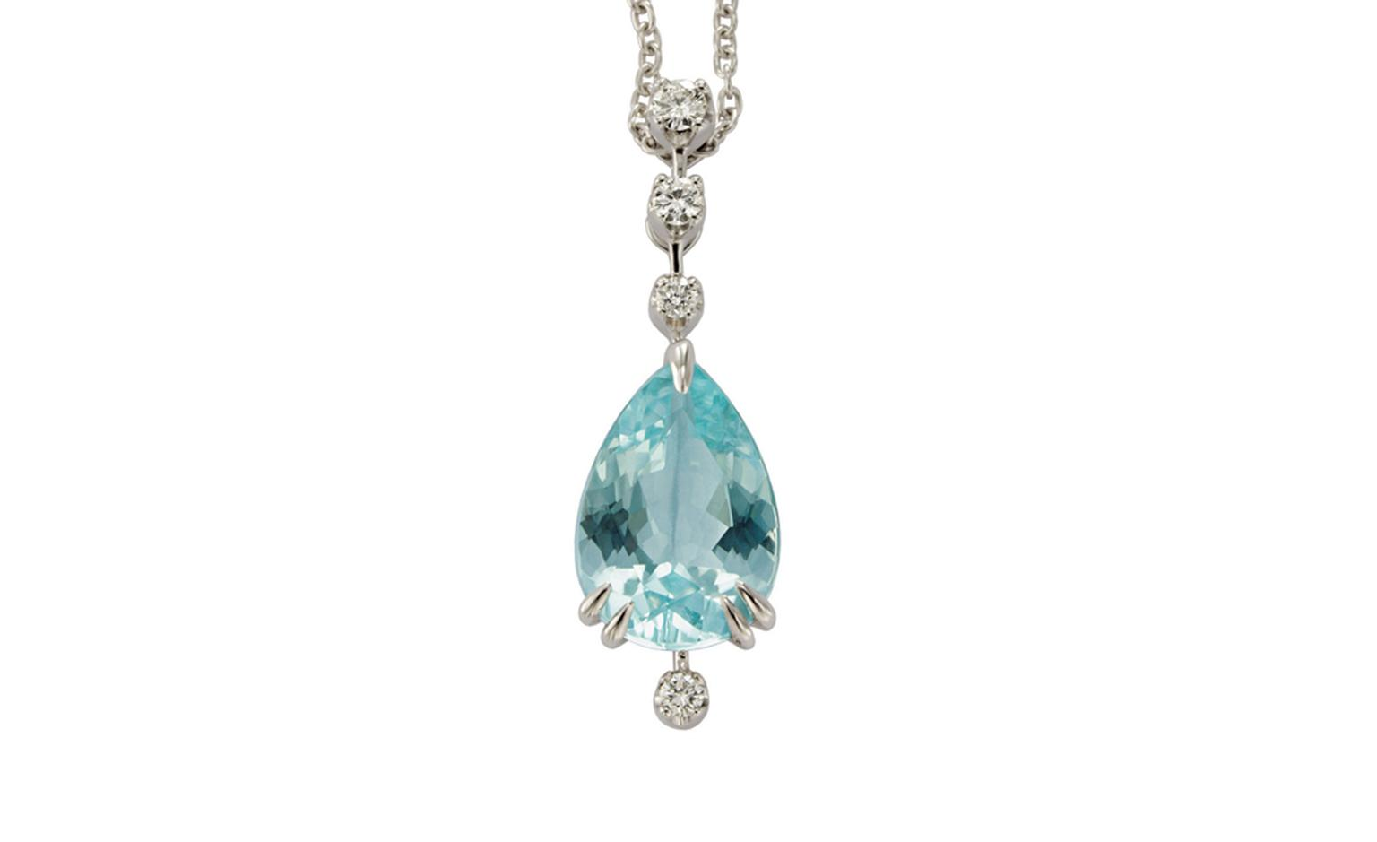 H.STERN. Paraiba Tourmaline Pendant. Price from £19,400