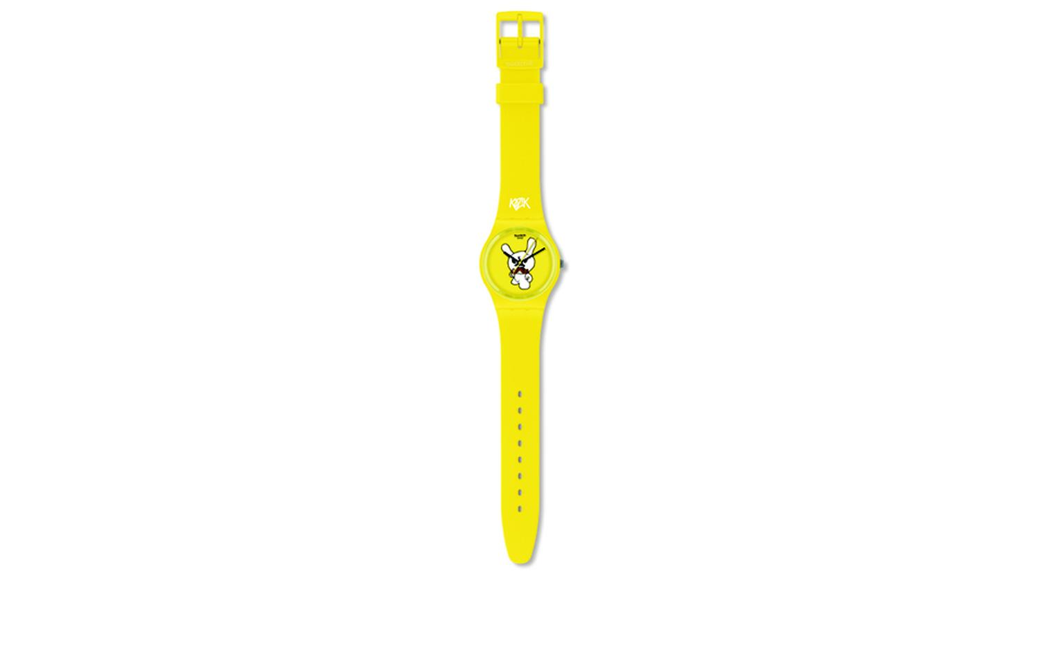 699 x 3493SWATCH AND KIDROBOT. Swatch, Ski Instructor. Artist: Frank Kozik. Price from £44.50