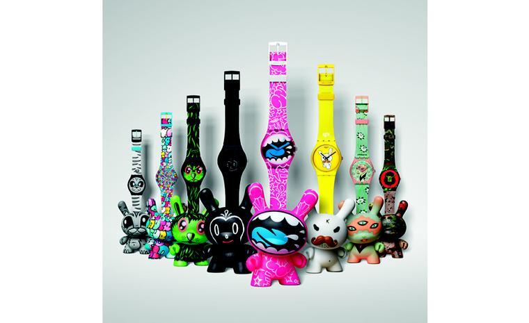 SWATCH AND KIDROBOT DEBUT NEW COLLECTION