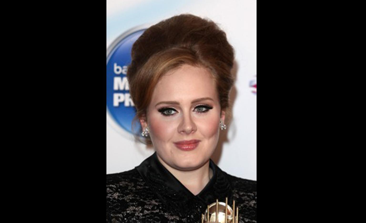 Adele wears Harry Winston to the 2011 Barclaycard Mercury Prize
