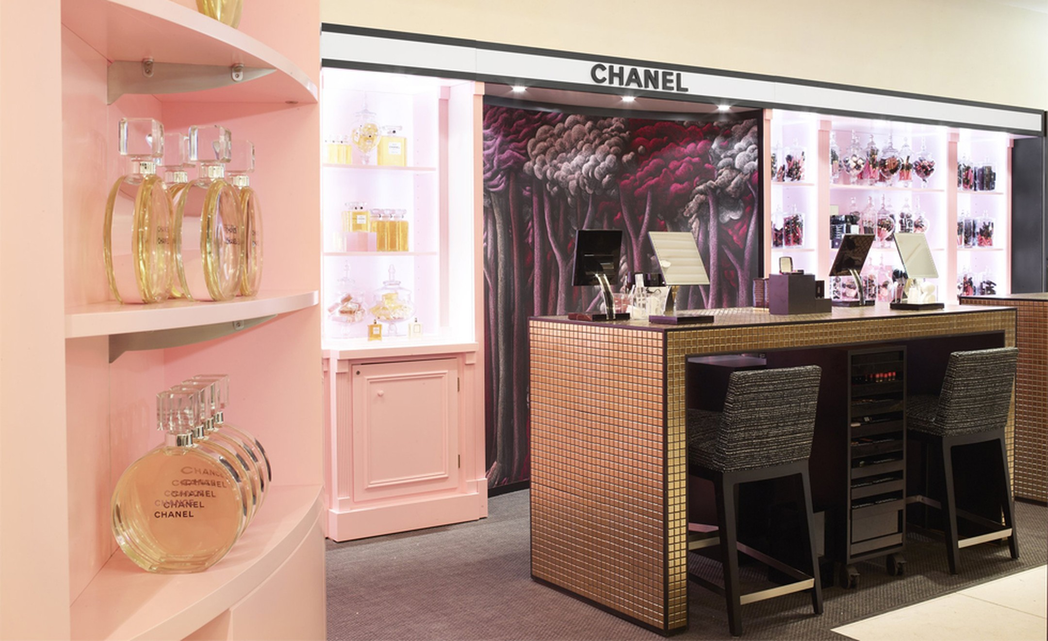 CHANEL: HARRODS Beauty Ephermel Boutique