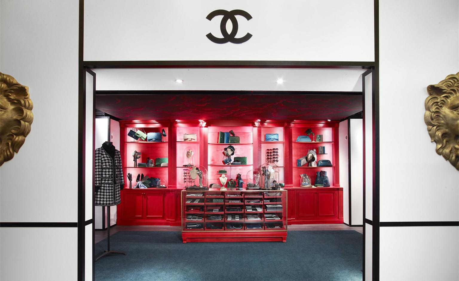 CHANEL: HARRODS  Fashion Ephemeral boutique