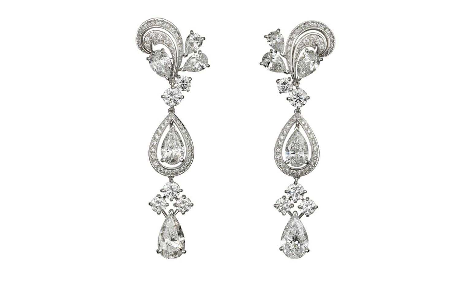 Cartier platinum and diamond pendant earrings by cartier cartier platinum and diamond pendant earrings by cartier used in the filming of we aloadofball Images