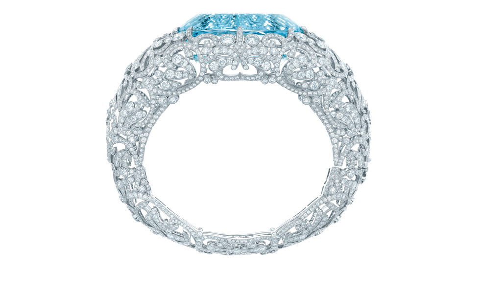 TIFFANY Diamond and Aquamarine Bracelet Price from