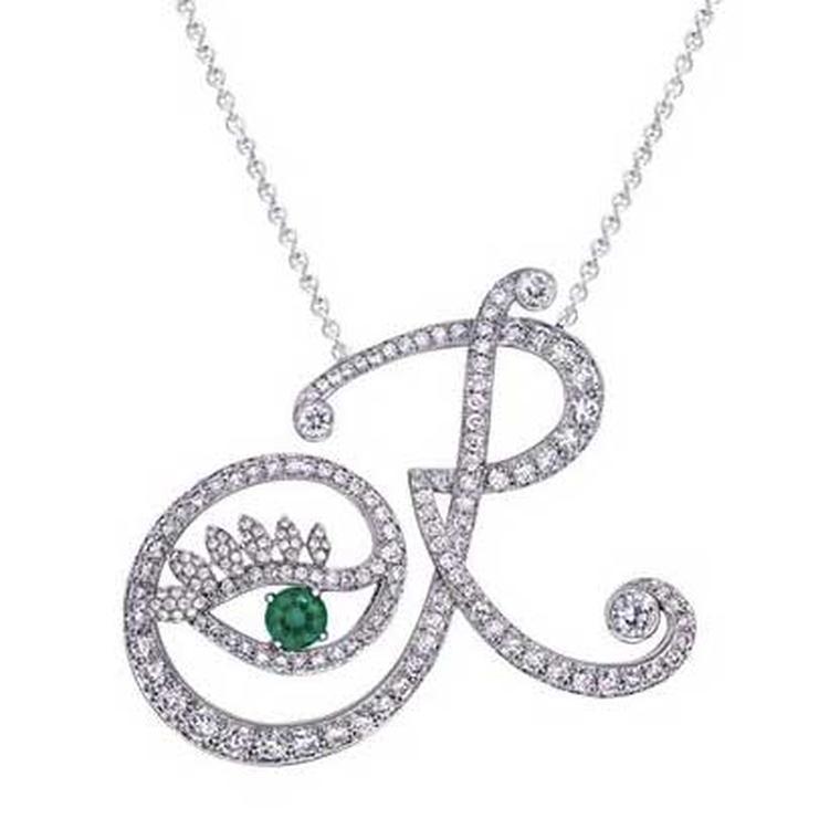 Nigora Tabayer Eye Collection R necklace