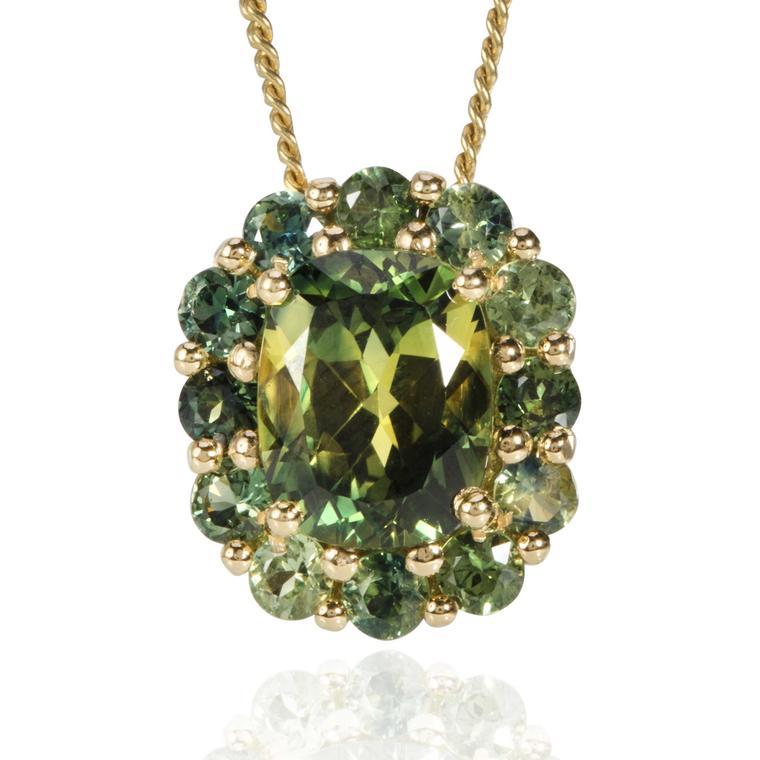 Jewels of Queensland green sapphire pendant