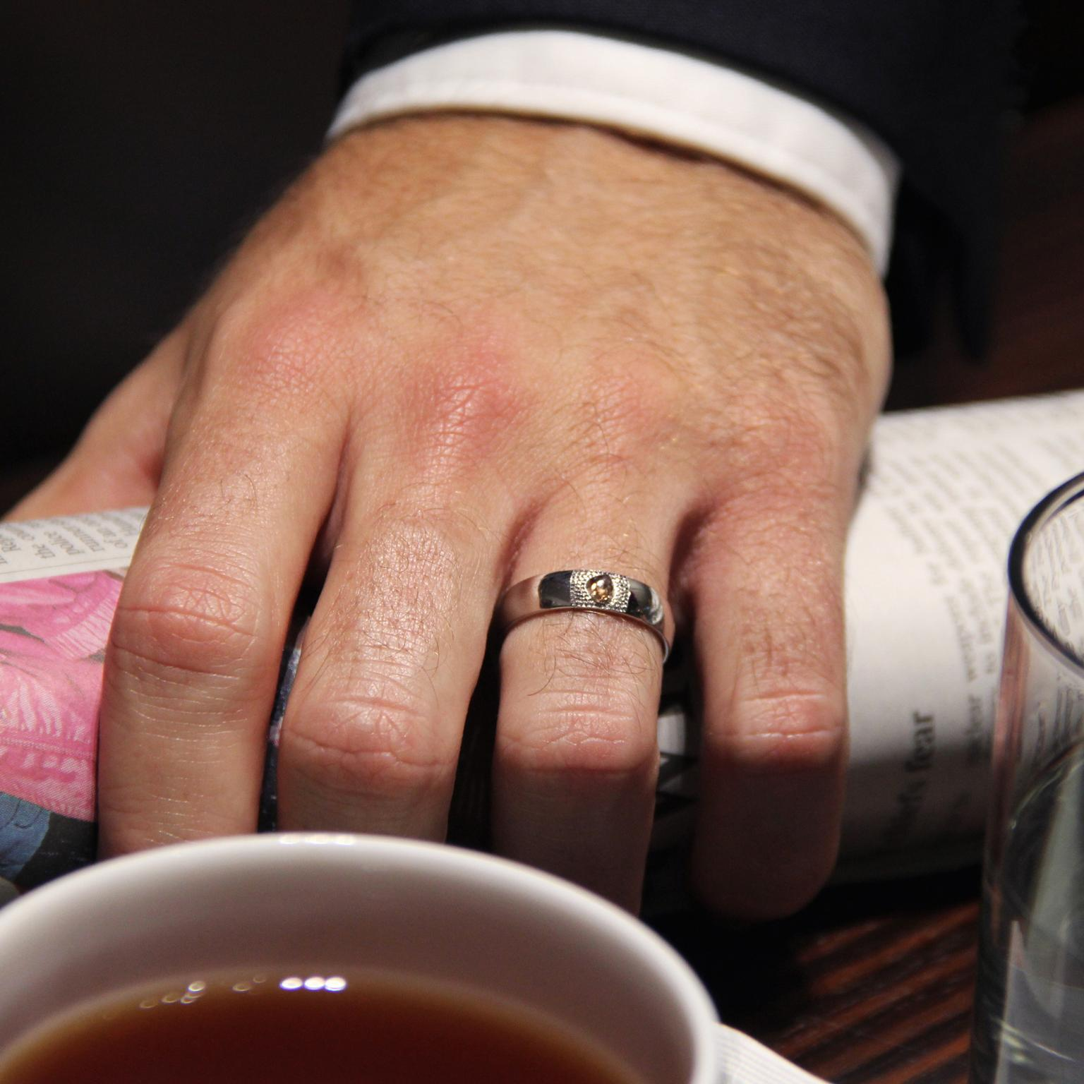 the best diamond engagement rings for men the jewellery editor