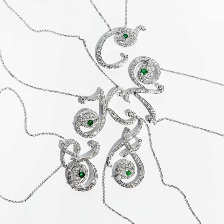 Nigora Tabayer Eye Collection necklaces