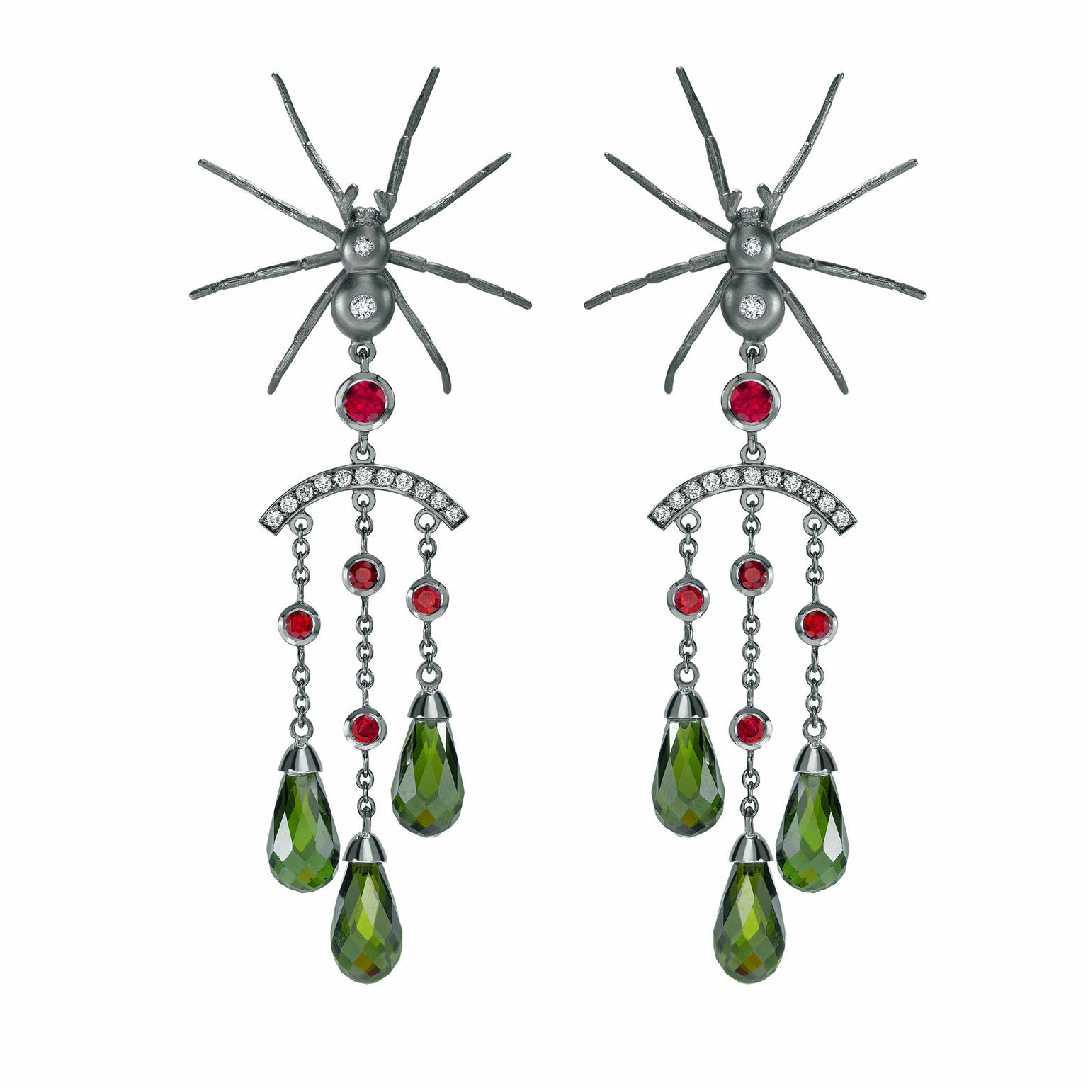 Theo Fennell spider earrings
