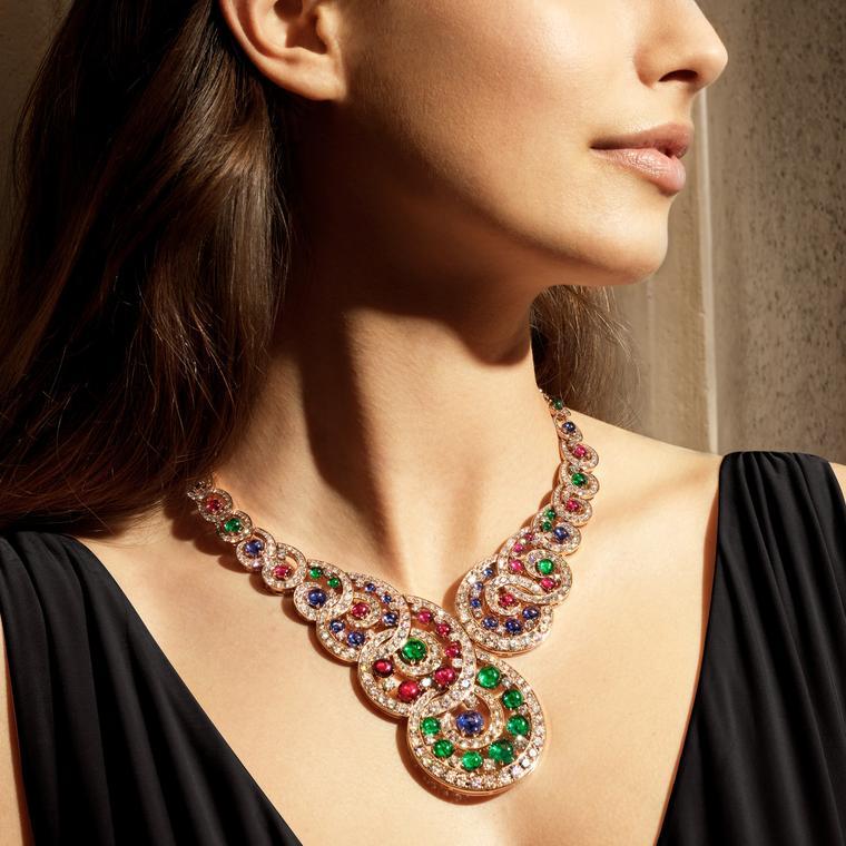 Baroque Spiral necklace by Bulgari