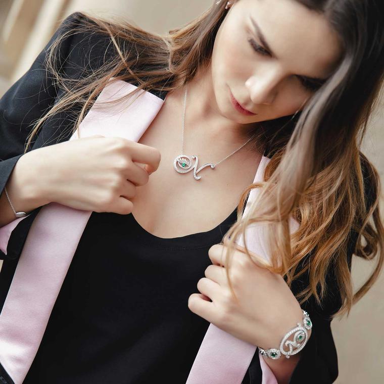 Nigora Tabayer Eye Collection necklace