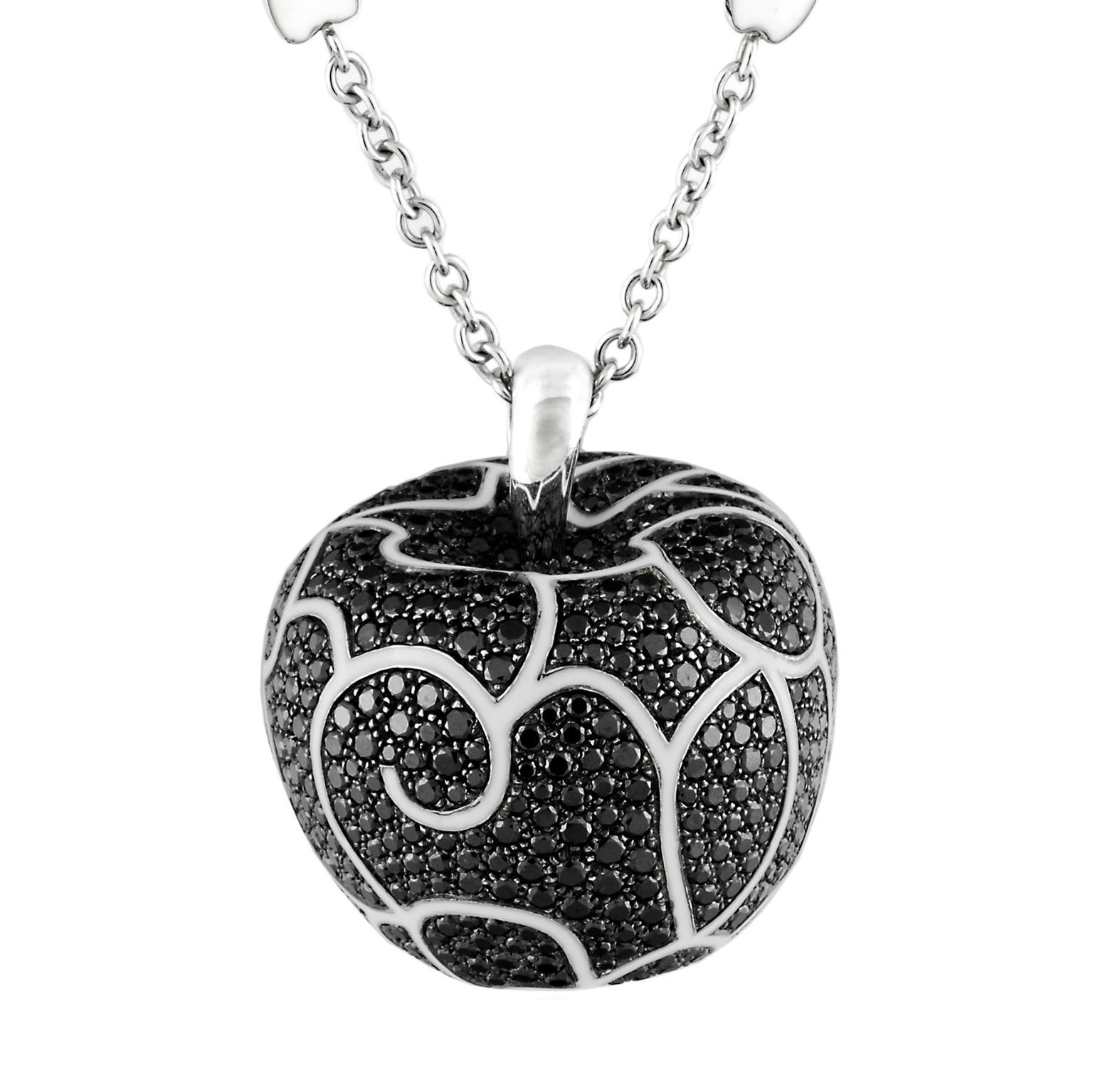 Black diamond Mela necklace Avakian