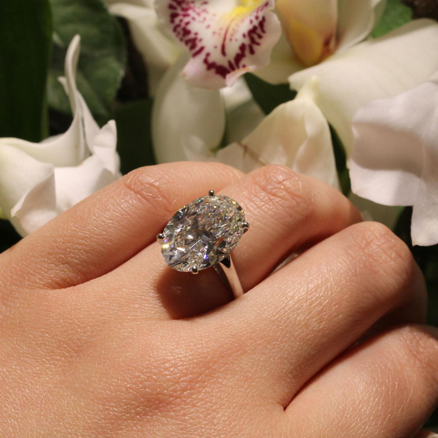 How to choose an engagement ring to suit your hand shape