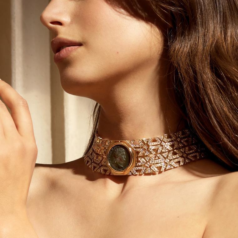 Monete Weave necklace by Bulgari