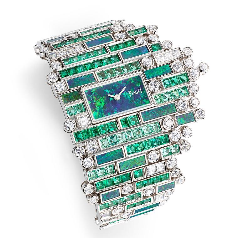 Piaget Verde Bisazza jewellery watch