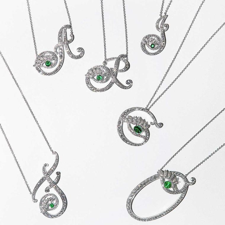 Nigora Tabayer Eye Collection diamond necklaces