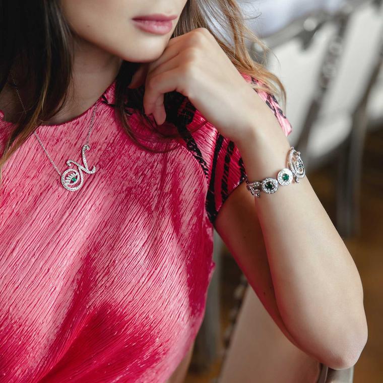 Nigora Tabayer Eye Collection jewels