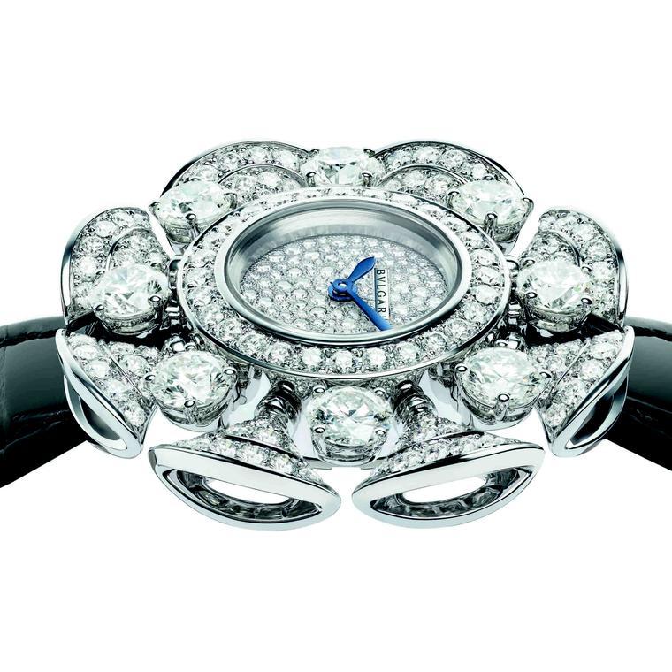 Diva's Dream Divissima White gold watch by Bulgari