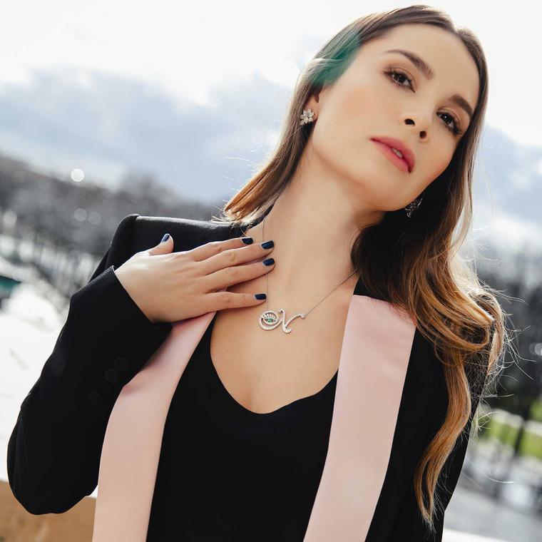 Nigora Tabayer eye jewellery