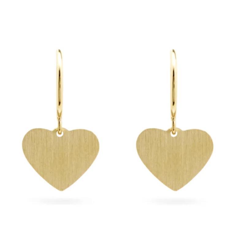 Heart earrings by Irene Neuwirth