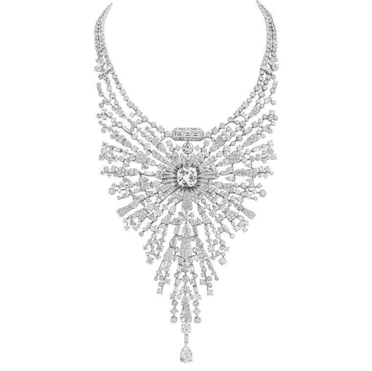 Chanel Collection No 5 DIAMOND SILLAGE necklace