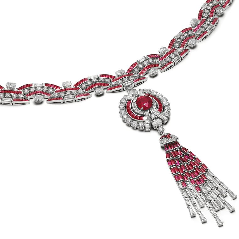Ruby Metamorphosis necklace by Bulgari