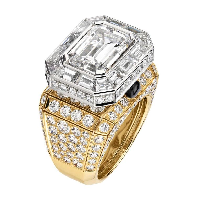 Chanel Collection No 5 Diamond Stopper ring