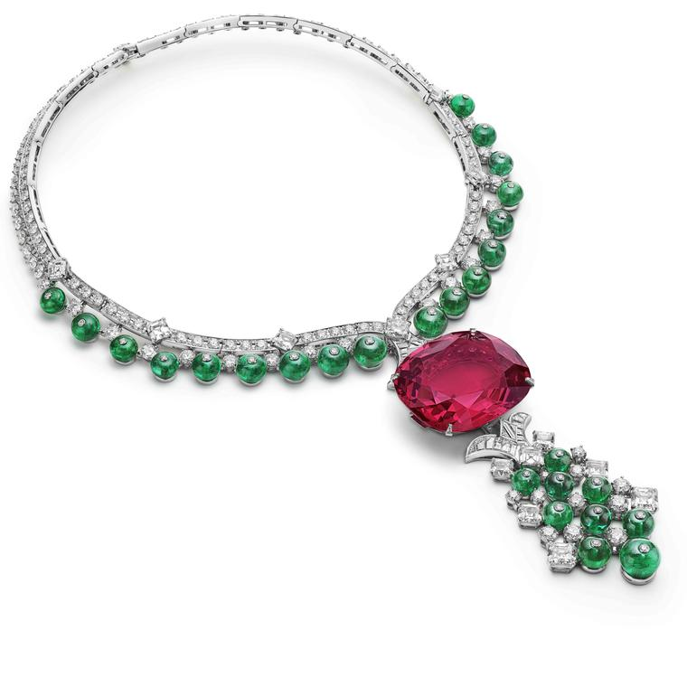 Imperial Spinel necklace by Bulgari