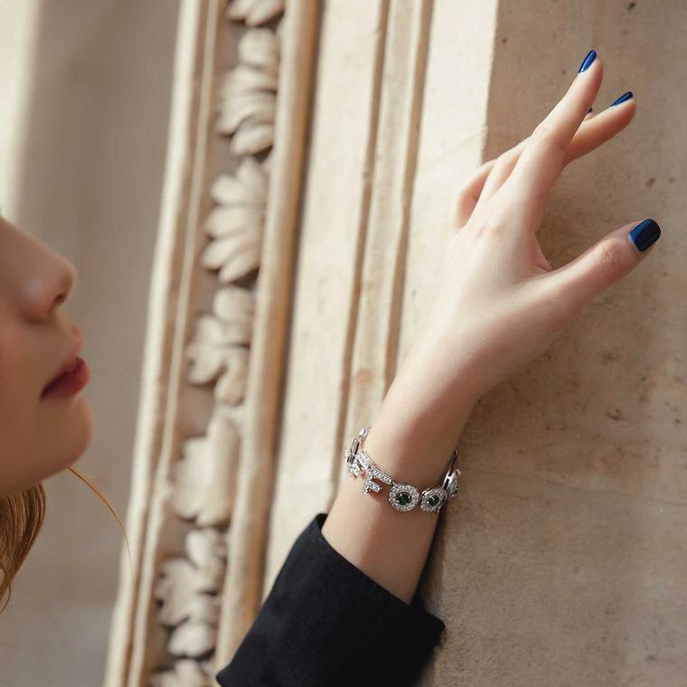 Nigora Tabayer diamond bracelet
