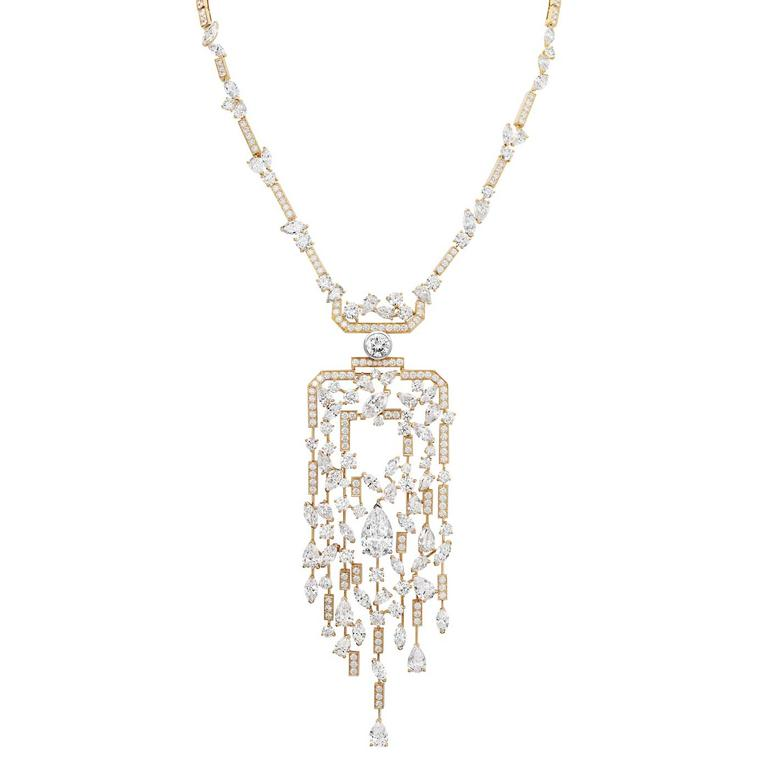 Chanel Collection No 5 SPARKLING SILHOUETTE necklace