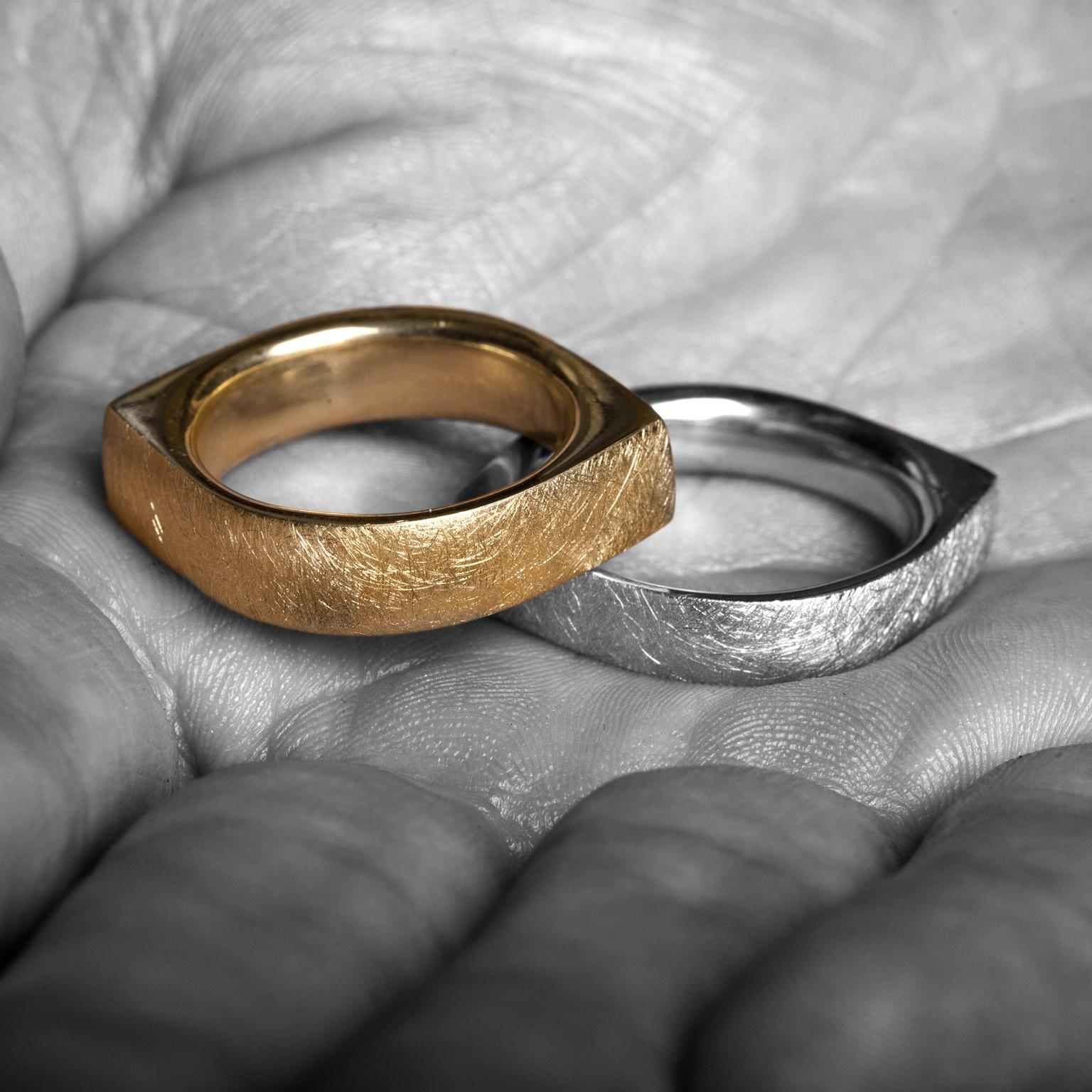 the perfect wedding bands for same couples the jewellery editor