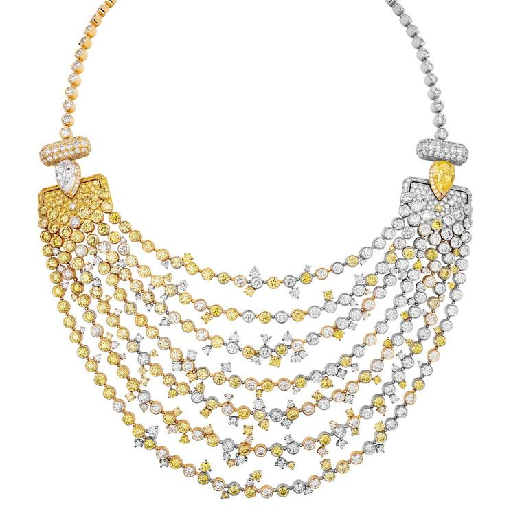 Chanel Collection No 5 Abstraction necklace