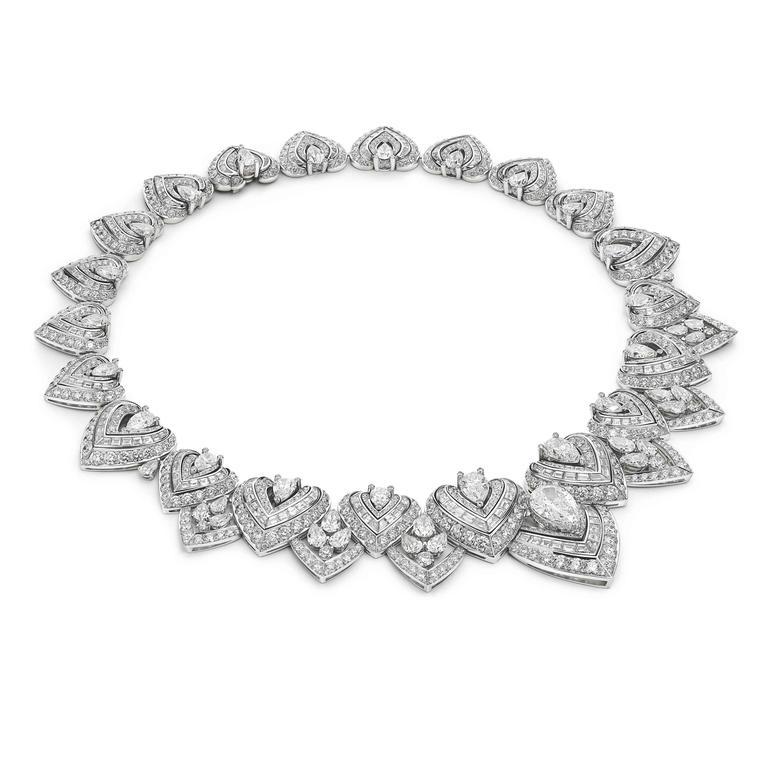 Diamond's passion necklace by Bulgari