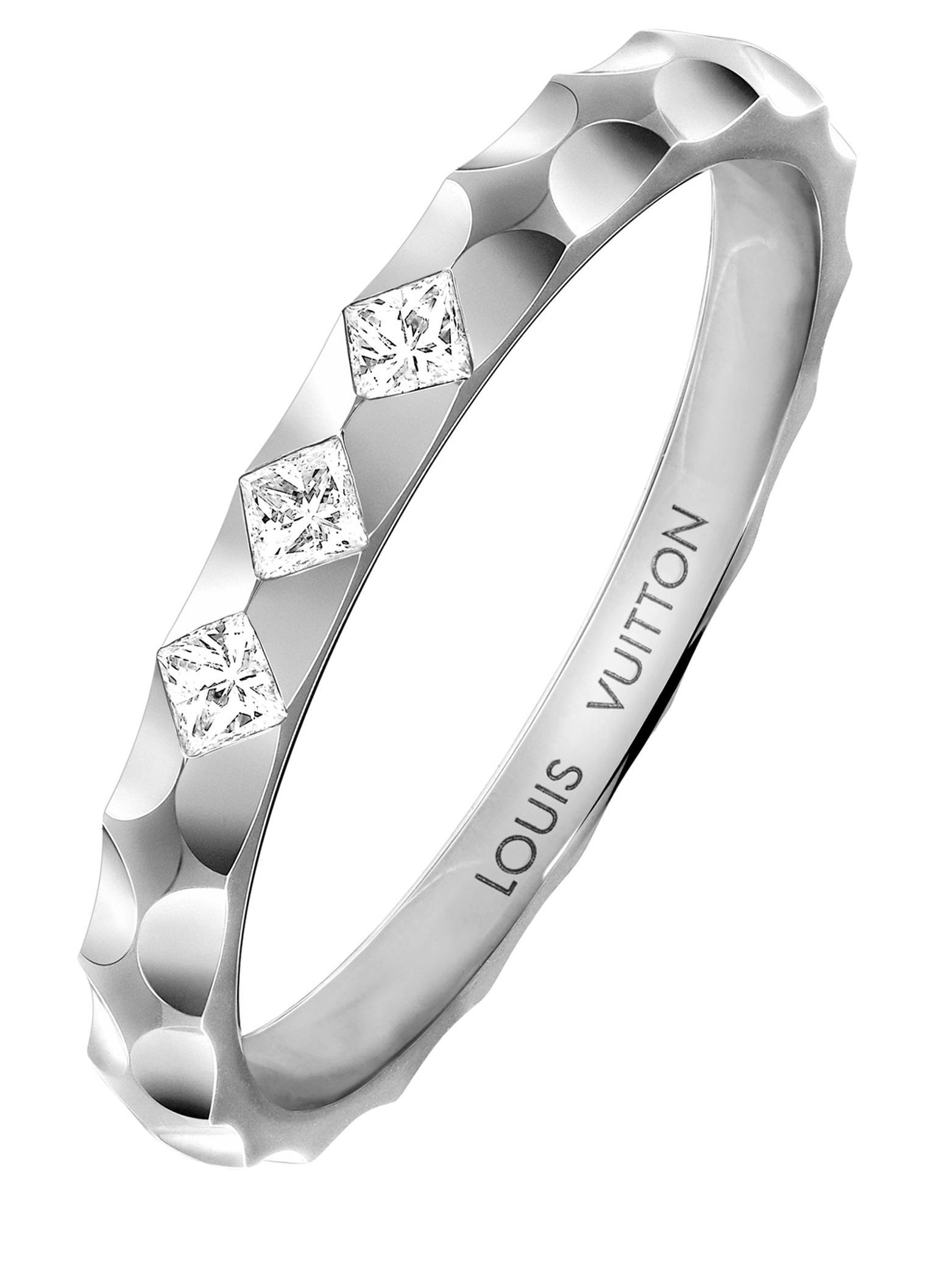 Louis Vuitton Monogram Infini Wedding Ring 20170830 Zoom