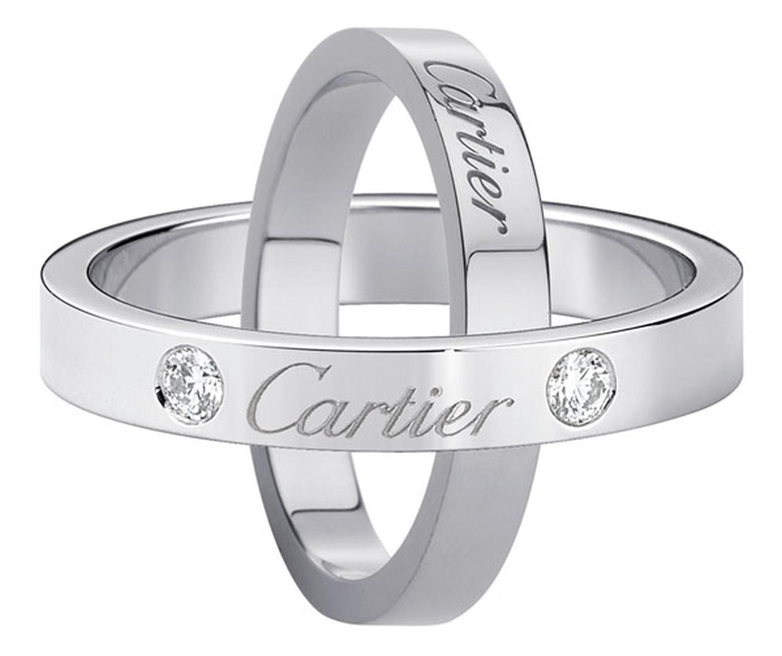 cartier wedding rings engraved with cartier wedding ring