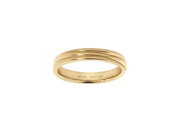 Louisvuittonnewweddingbands004 Louis Vuitton Epi Wedding Ring In Platinum Louisvuittonnewweddingbands005