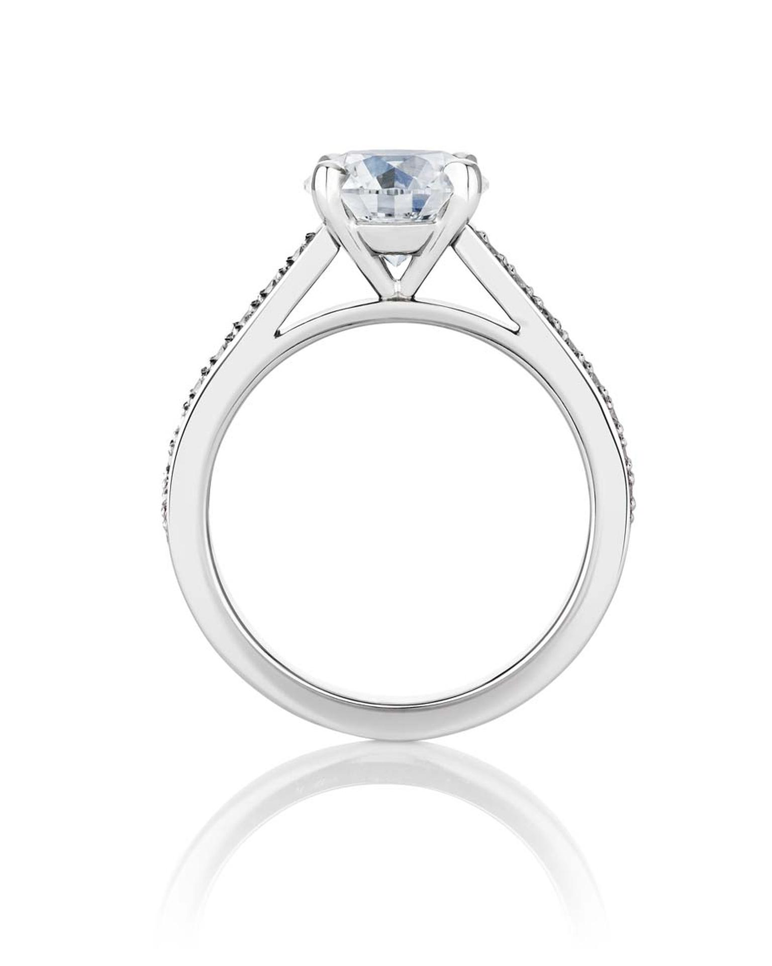 It Sits Alongside The Existing Collection Of De Beers Engagement Rings Which Includes
